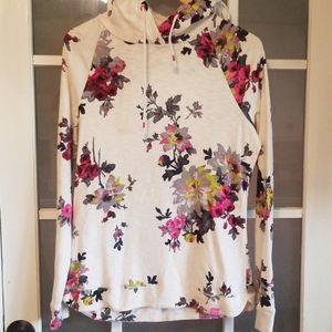Joules floral hoodie